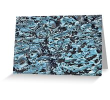 Limestone Texture Greeting Card