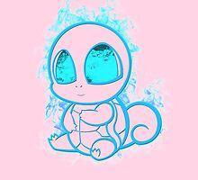 Pokemon squirtle - red by poketees