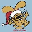 Christmas Bunny by Zoo-co