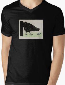I. POULE Mens V-Neck T-Shirt