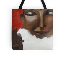 Buddha on clouds in the skies Tote Bag