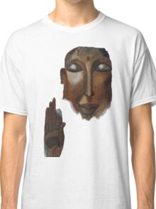 Buddha on clouds in the skies Classic T-Shirt