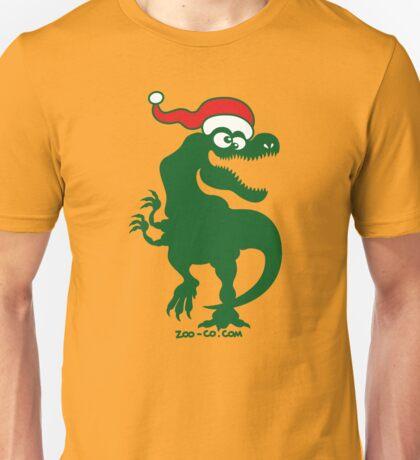 Christmas Tyrannosaurus Rex Unisex T-Shirt