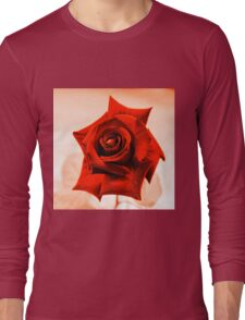 Red Rose III Long Sleeve T-Shirt