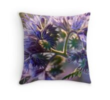 Joyful heart feelings  -  N I R V A N A  - Lady in violet . by Andrzej Goszcz. Views (576). Ok!ok! Throw Pillow