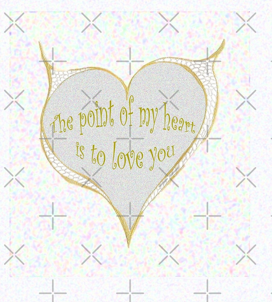 The point of my heart by KazM