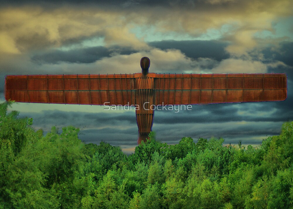 Angel Of The North  by Sandra Cockayne