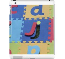 Missing Letter... iPad Case/Skin