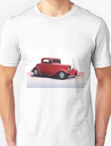 1932 Ford 'Full Fender' Coupe Unisex T-Shirt