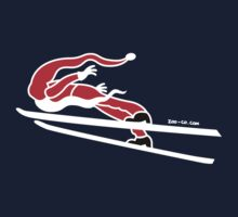 Santa Claus Goes Ski Jumping T-Shirt