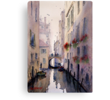 Venice Backstreet Canvas Print