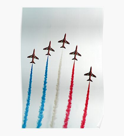 Red Arrows Hoylake 2008 Poster