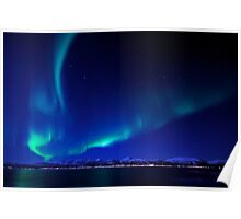 North Light / Aurora Borealis at Vesterålen islands Poster