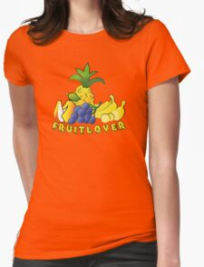 Fruit Lover Womens Fitted T-Shirt