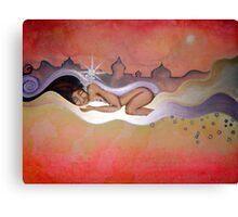 Sleeping Lady Canvas Print