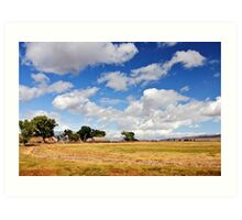 Rural countryside nature scenic photography landscape Art Print
