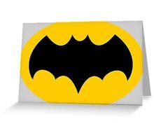 Batman '66 Symbol Greeting Card