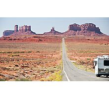Monument Valley Utah, RV Camper Holiday Photographic Print