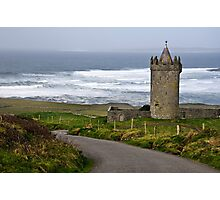 Irish Castle In Doolin, County Clare, Ireland Photographic Print