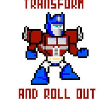 8bit Optimus Prime Transformers by miffed