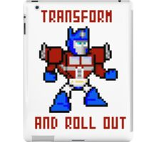 8bit Optimus Prime Transformers iPad Case/Skin