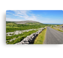 The Burren National Park, County Clare, Ireland Canvas Print