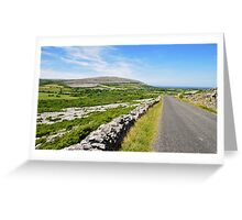 The Burren National Park, County Clare, Ireland Greeting Card