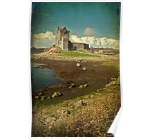 Irish Castle Dunguaire, County Galway, Ireland Poster