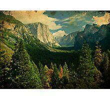 Yosemite National Park, Scenic Nature Landscape Photographic Print