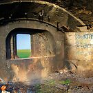 Shornemead Fort Gun Emplacement by brianfuller75