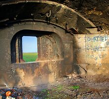 Shornemead Fort Gun Emplacement by brianfuller75