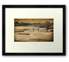 Dromoland Castle Hotel Golf Club, County Clare,Ireland Framed Print
