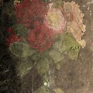 Flowers  in Textures and Layers  - Julie grattan by julie anne  grattan