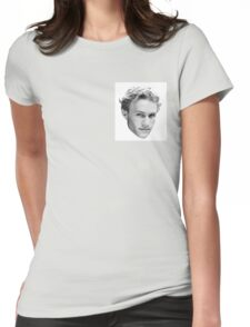 Heath Ledger Womens Fitted T-Shirt