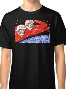 USSR Propaganda - Cosmonauts Classic T-Shirt