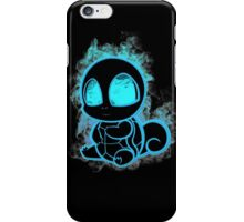 Pokemon squirtle - black iPhone Case/Skin
