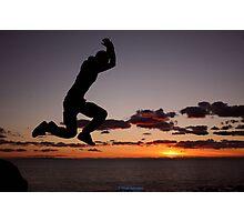Rock hopping Photographic Print