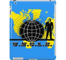 Man From U.N.C.L.E iPad Case/Skin