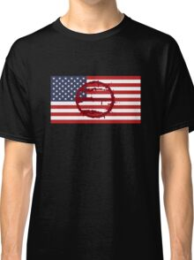 Hotline Miami: 50 Blessings On US Flag Classic T-Shirt
