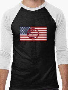 Hotline Miami: 50 Blessings On US Flag Men's Baseball ¾ T-Shirt