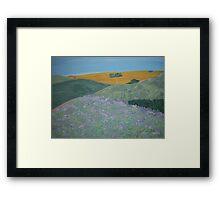 Prairie Hills Framed Print