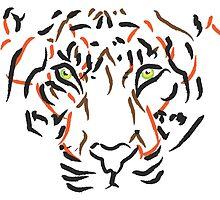 EYE OF THE TIGER by redbunnyKHK