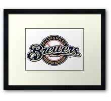 Milwaukee Brewers Framed Print