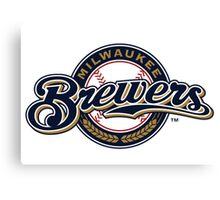 Milwaukee Brewers Canvas Print