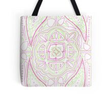 Psychedelic Lily Tote Bag