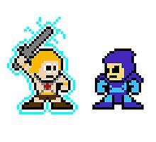 He-man, Skeletor fight! MYAAAAAAAAHH! no text by miffed