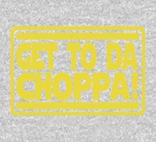 Get To Da Choppa! One Piece - Long Sleeve