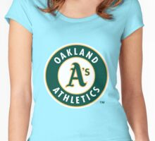 Oakland Athletics Women's Fitted Scoop T-Shirt