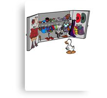 Which Duck to Be Today? Canvas Print
