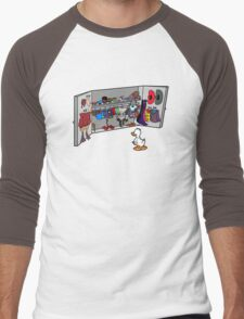 Which Duck to Be Today? Men's Baseball ¾ T-Shirt